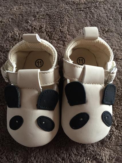 Zapatos Bebé Niña Panda 11 Y 12 Cm