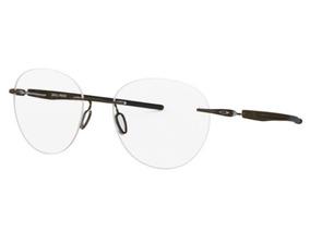 1683b3c7a6 Armação Oculos Grau Oakley Drill Press Ox5143 0251 Titanio