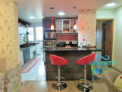 Apartamento Alto Padrão 03 Dorm Mobiliado Centro Gravatai 101m² - V29