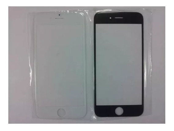 Cristal Original iPhone 5c 5s 6s 6 7 Plus Blanco Negro Glass