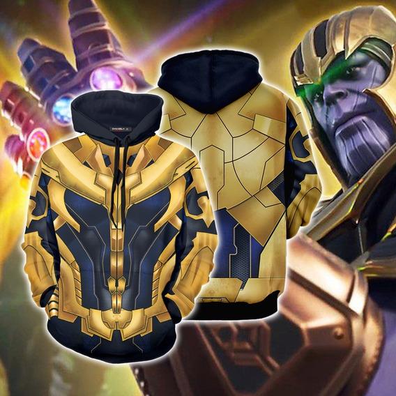Avengers 4 Endgame Thanos Jersey Sudadera Traje Capucha