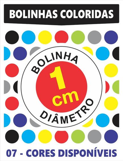 Bolinha Colorida Convites Casamento Envelope Caixas - 1cm