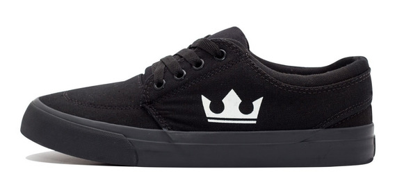 Tênis Overking Crown Preto Total All Black Original +nf