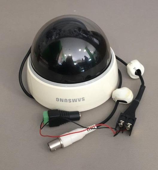 Câmera Dome Ccd 1/3 Super Had 600 Tvlines 4mm - Sansung