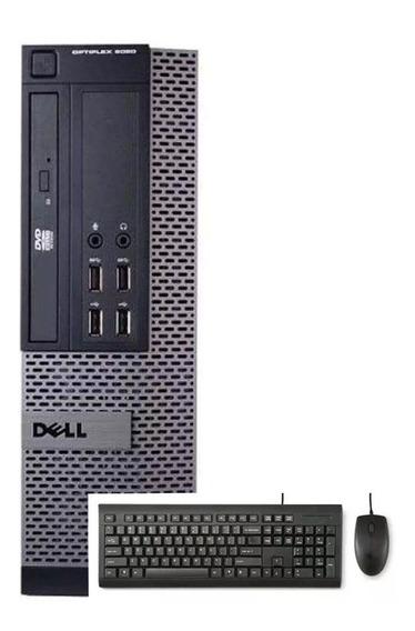 Cpu Dell Optiplex 9020 I5 4ºger 8gb 500gb + Teclado/mouse