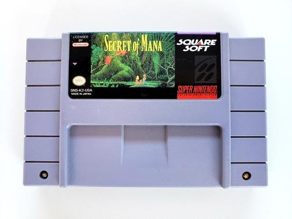 Secret Of Mana Original Snes Super Nintendo