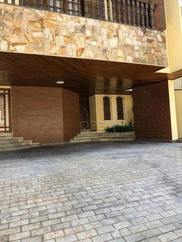 Casa Com 3 Dormitórios À Venda, 324 M² Por R$ 1.900.000,00 - Campestre - Santo André/sp - Ca0441