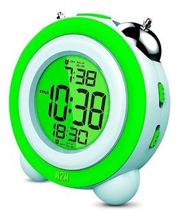 Reloj Despertador Led Digital Coby Uprise Alarma Pantalla Lcd