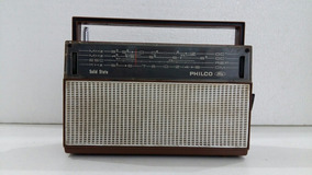 Rádio Antigo Philco Ford Mod. B 469 Funcionando