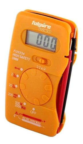 Multímetro Digital De Bolsillo Fulgore Fp0078