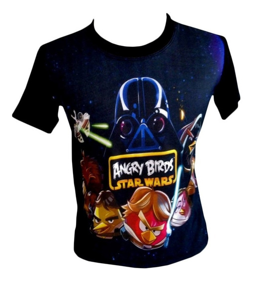 Camiseta, Regata, Baby Look - Angry Birds, Jogo, Star Wars