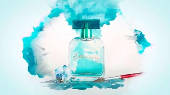 Fragrância Feminina Eterna Blue Hinode