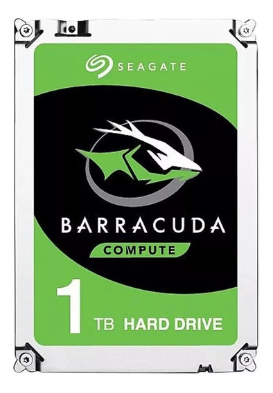 Hd Seagate Barracuda 1tb 7200rpm Cache 64mb Sata 3 - 2 Anos