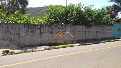 Terreno À Venda, 348 M² Por R$ 150.000,00 - Massaguaçu - Caraguatatuba/sp - Te0043