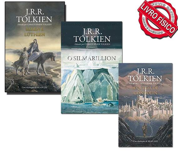 Livros Beren E Lúthien + Queda De Gondolin + O Silmarillion