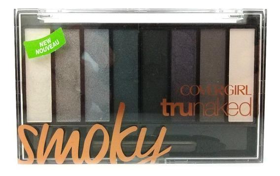 Paleta De Sombras Realçadoras Covergirl Trunaked Smoky