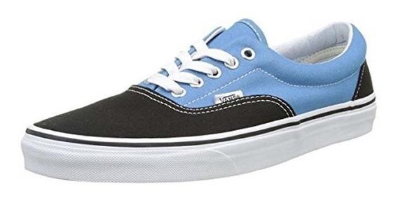 Tenis Vans Era Canvas Black Cendre Blue Vn0a38frmv6