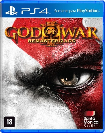 God Of War 3 Remasterizado - Ps4 - Midia Fisica - Lacrado