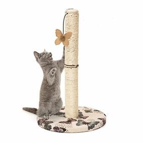 Arranhador Gatos Modelo Poste De Sisal Com Brinquedo