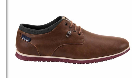 Zapato Casual Polo 5485 Chocolate