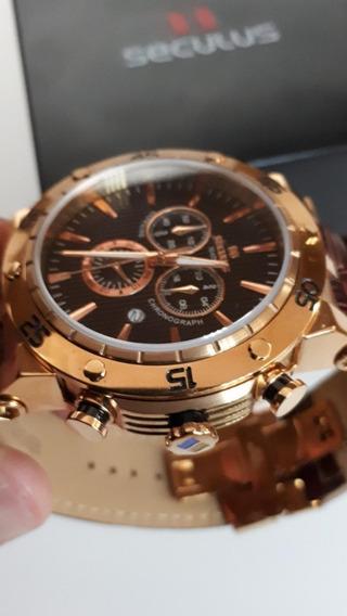 Style Elegante - Lindo Relógio Seculus Analógico