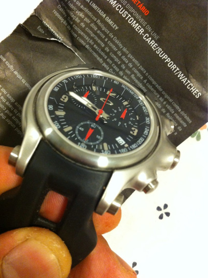Relógio Oakley Holeshot Chrono Preto