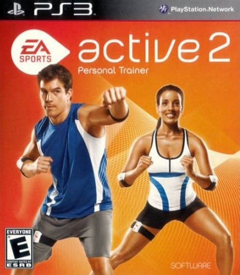 Jogo Ea Sports Active 2 Personal Trainer Ps3 Somente Jogo