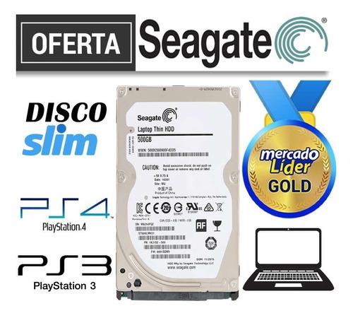 Disco Duro Seagate 2.5 500gb Laptop Slim Ps3 Ps4