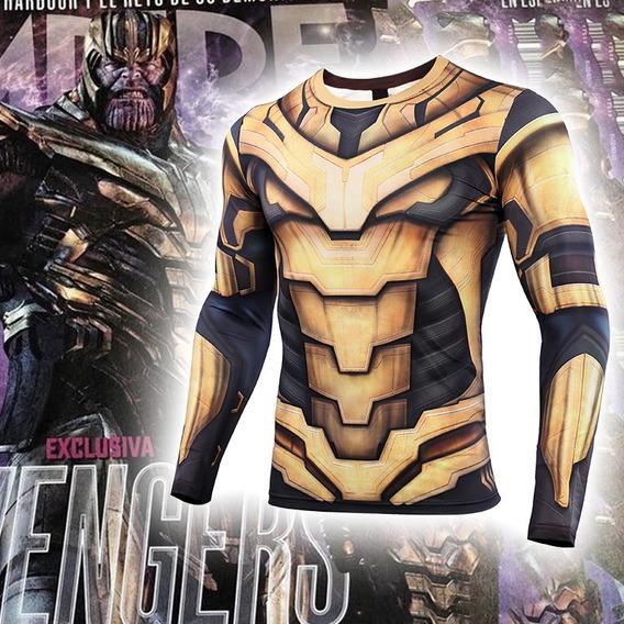 2019 Avengers 4 Endgame Thanos Manga Largo T Traje