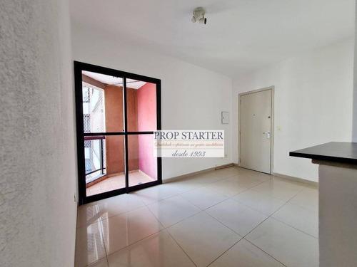 Imagem 1 de 19 de Apartamento Com 1 Dormitório À Venda, 35 M² Por R$ 530.000 - Vila Buarque - Prop Starter Adm.imóveis - Ap0761