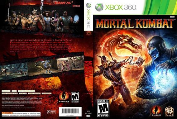 Mortal Kombat 9 - Xbox 360 - Mídia Digital