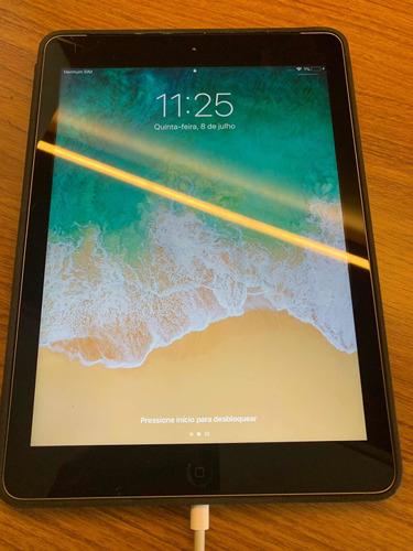 Imagem 1 de 5 de Apple iPad Air 128gb Wi-fi + Cellular Prata
