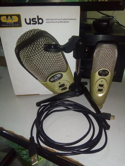 Microfone Usb Cad U37