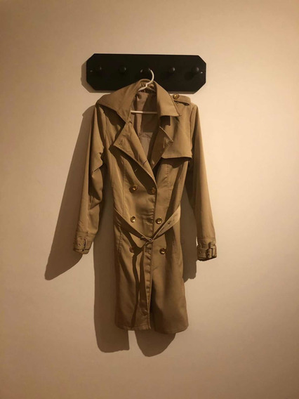 Trench/piloto De Mujer Color Camel
