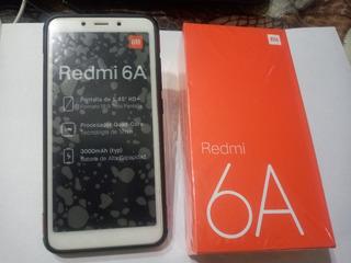 Celular Xiaomi Redmi 6a Liberado Funda Y Templado Nuevos