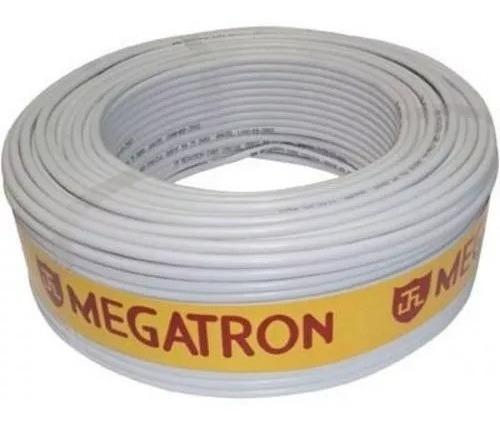 Cabo Megatron Coaxial Flexível Rf4mm Bipolar 2x26 Awg