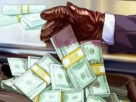 20 Milhões De Dinheiro Online Gtav Ps4 Retirada Com Vendedor