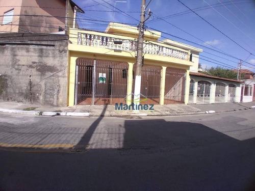 Imagem 1 de 11 de Sobrado Com 3 Dormitórios À Venda, 150 M² Por R$ 460.000,00 - Vila Alpina - São Paulo/sp - So0555