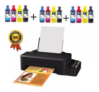 Impressora Epson L120 Ecotank + 12un Tinta Sublimatica