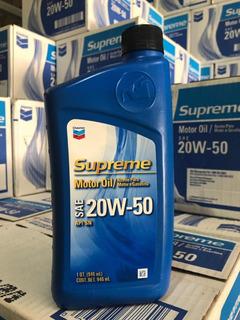 Aceite Chevron 20w-50 Mineral A 37 Y 15w-40 Semi-sintético