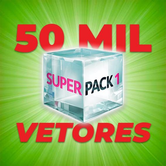 Incríveis 50 Mil Vetores Para Artes Gráficas Estampas Image