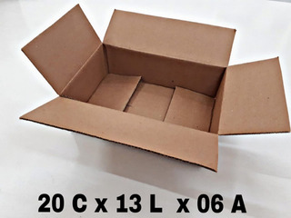 100 Caixa Papelão Correio Sedex 20x13x6 Promoção Da Fabrica