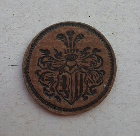 Moneda Alemana Notgeld 20 Pfennig Palel Prensaso!!! Muy Rara
