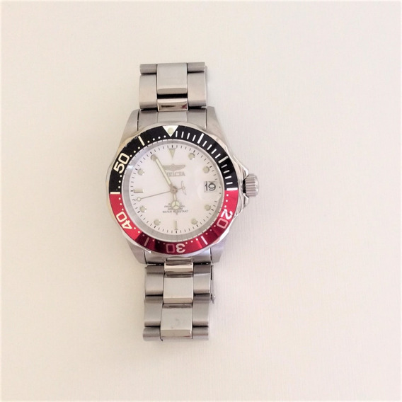 Relógio Masculino Invicta Em Aço Inoxidável Novo