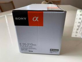 Lente Sony Emount E 55-210mm F4,5-6,3 Oss