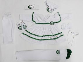 Kit Saída Maternidade Menina Time Do Palmeiras