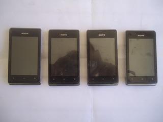 Lote 4 Celular Sony Xperia C1604 Com Defeito (ler Anuncio)