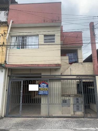 Imagem 1 de 4 de Casa Com 1 Dormitório Para Alugar, 50 M² Por R$ 665,00/mês - Vila Nova Carolina - São Paulo/sp - Ca0264