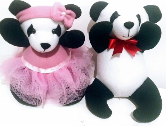 Casal De Urso Panda