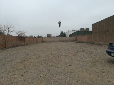 Alquilo Terreno Industrial En Huachipa